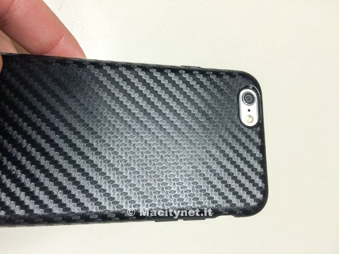 custodia carbonio iphone 6