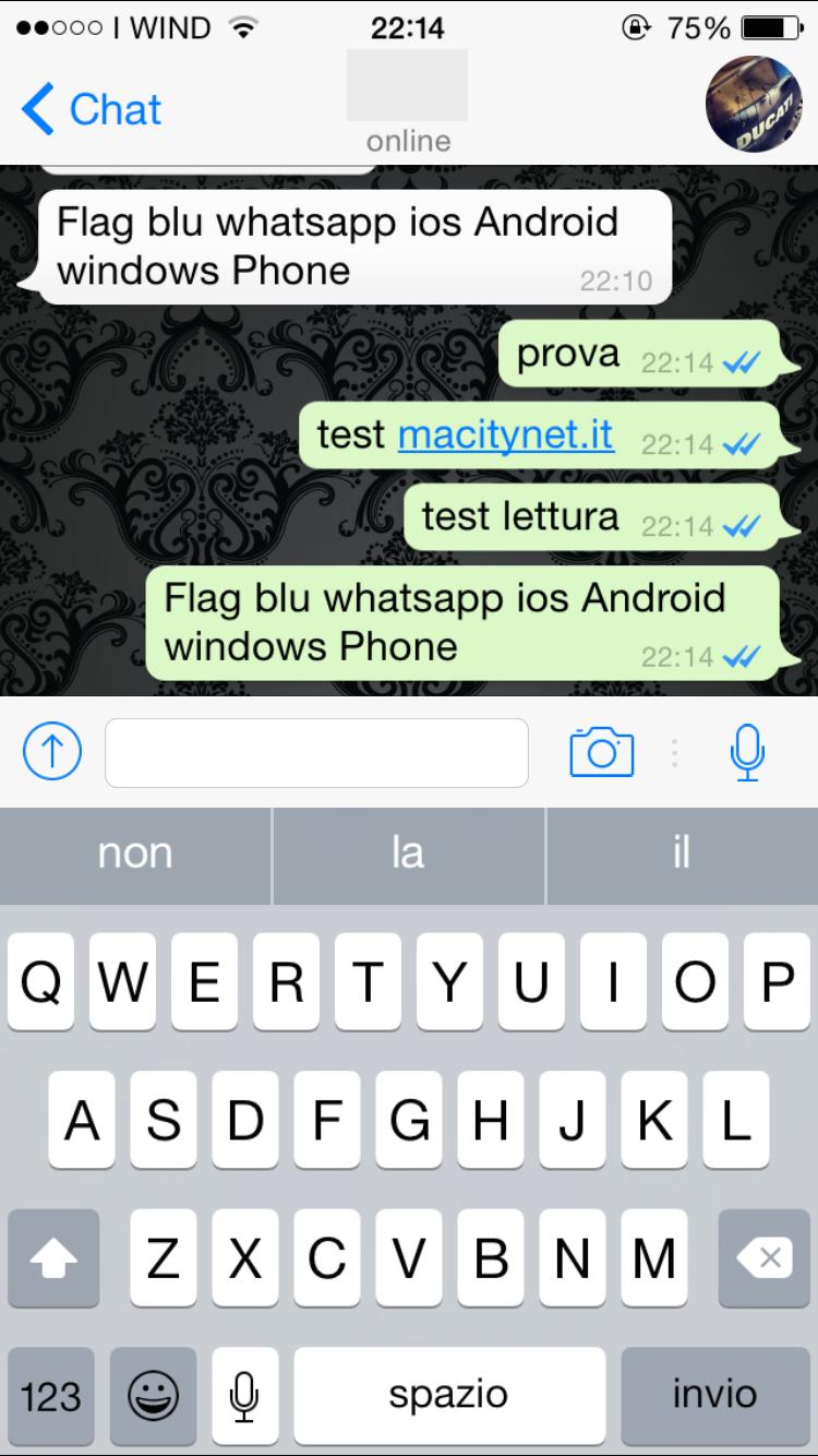 Conferma lettura messaggi Whatsapp, arriva la spunta blu ...