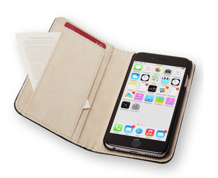 custodia moleskine iphone 8