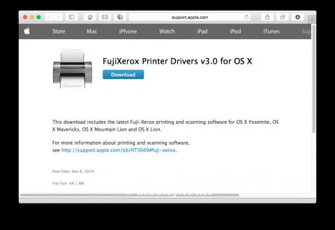 Fuji Xerox driver Stampanti scanner