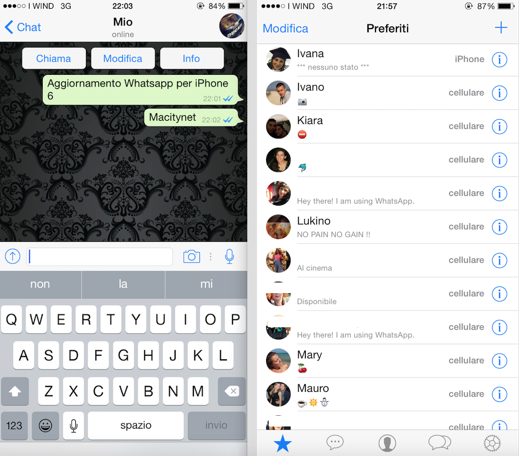 Whatsapp iPhone 6 è finalmente disponibile in App Store, ma rimane ...