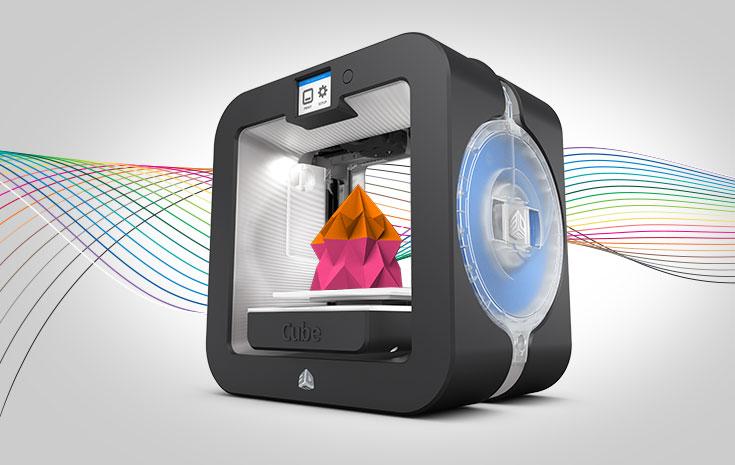 3D Cube, stampa oggetti 3D in 23 colori diversi - Macitynet.it