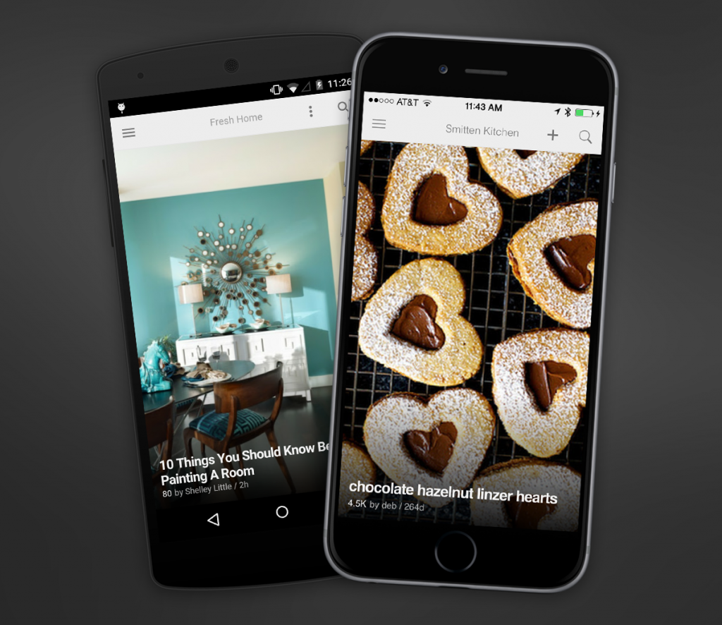 feedly iphone 6