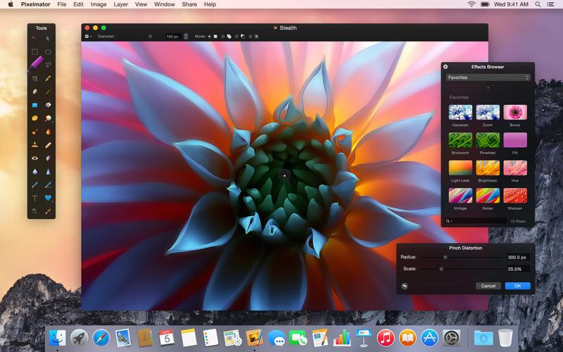 Pixelmator per Mac e iPad costano il 50% in meno per il Black Friday