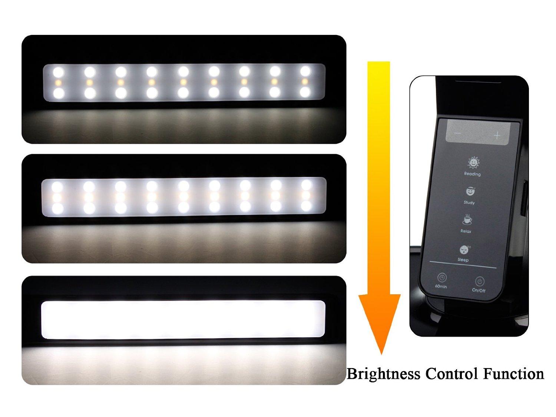 Lampada led da scrivania con porta carica cellulare for Lampada led da scrivania