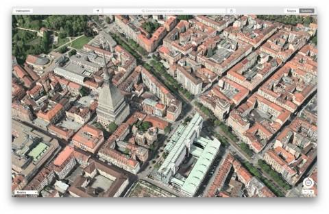 Flyover Torino mole antonelliana