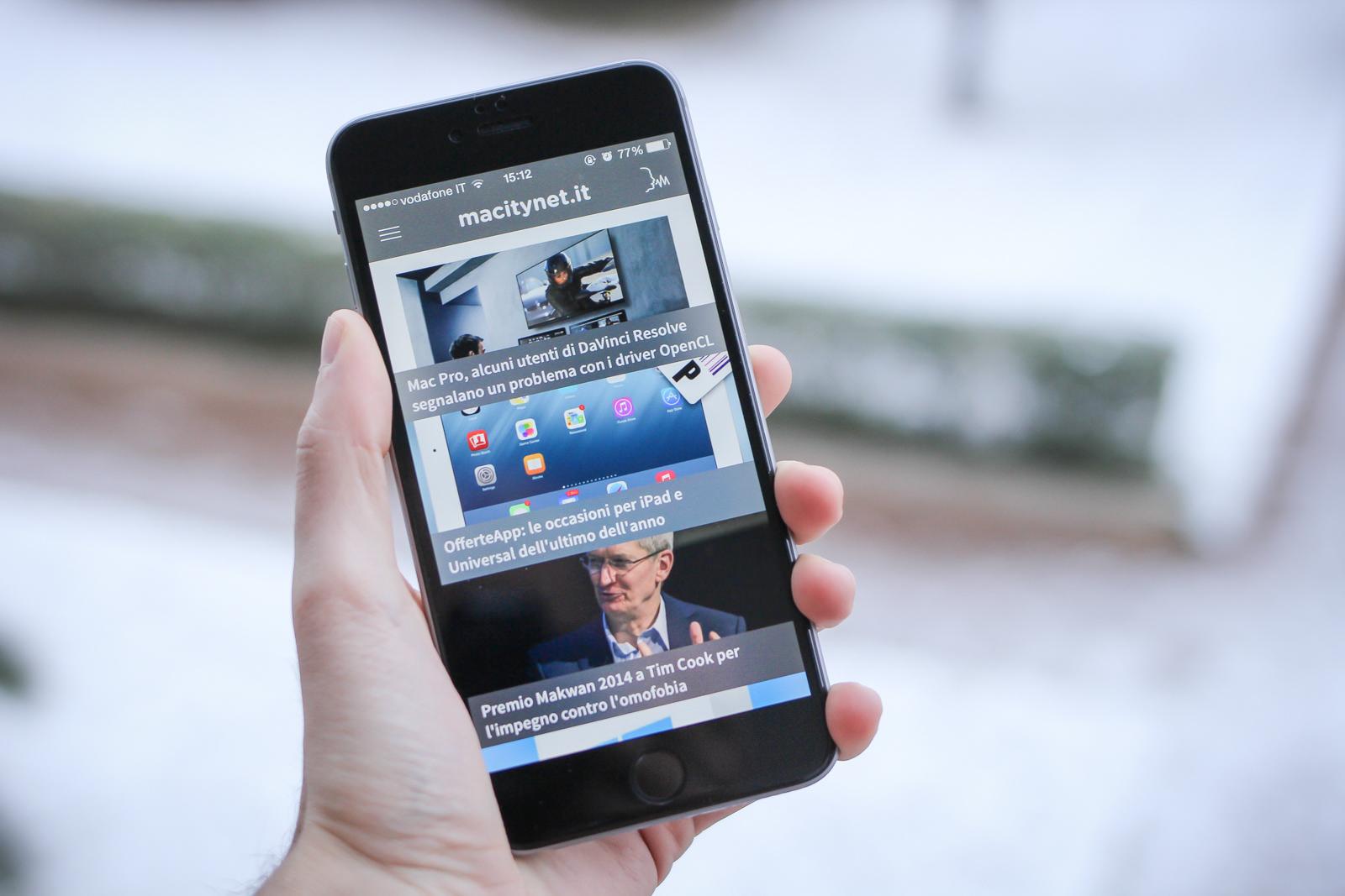 Arriva l'app di Macitynet, salvate e fatevi leggere le nostre notizie da iPhone - Macitynet.it