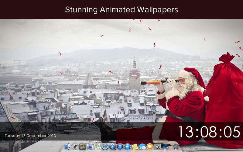 sfondi natalizi animati per mac