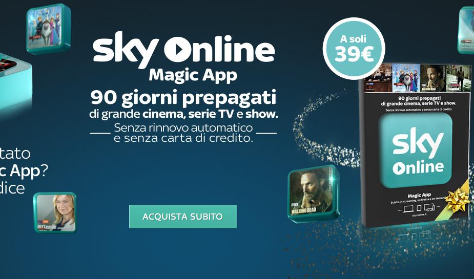 Sky Online Amazon App