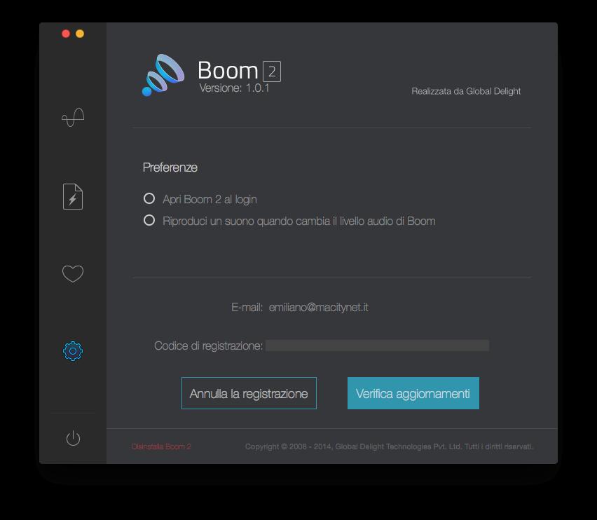 Recensione Boom 2, il software che porta il Mac ad un volume che spacca - Pagina 2 di 2