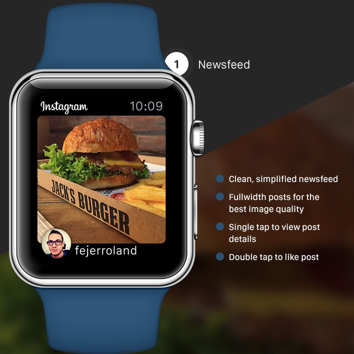 Instagram su Apple Watch