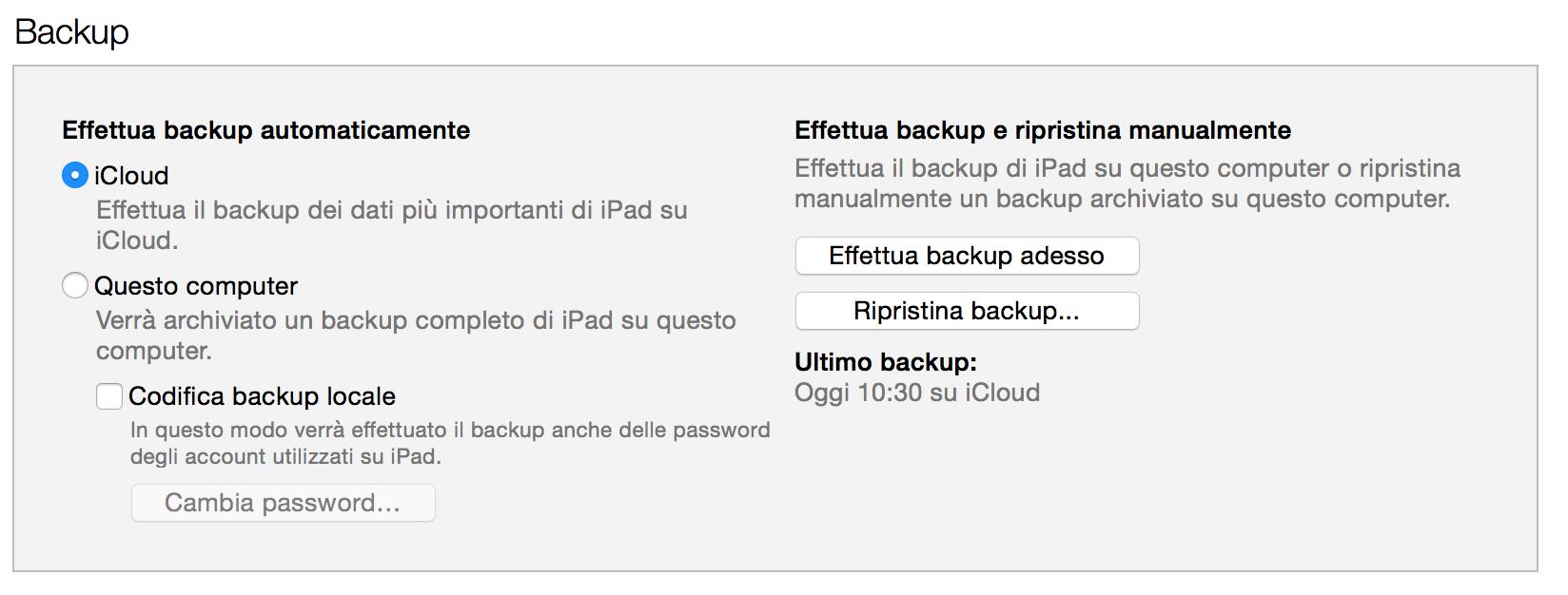Configurare nuovo iPhone