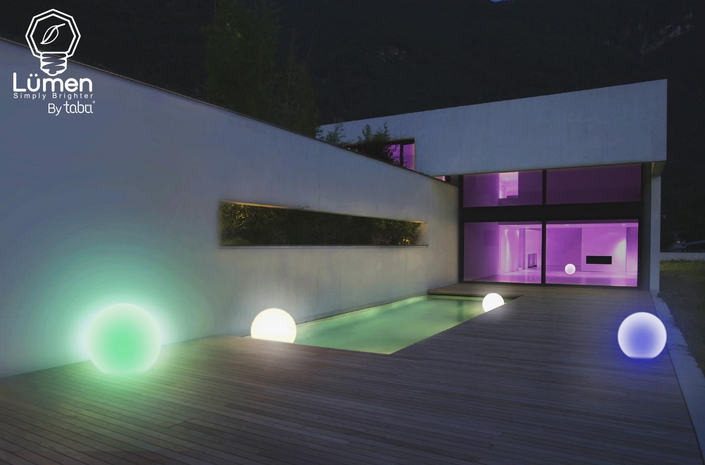 Lumen strip sphere e lumini: arriva il sistema di illuminazione