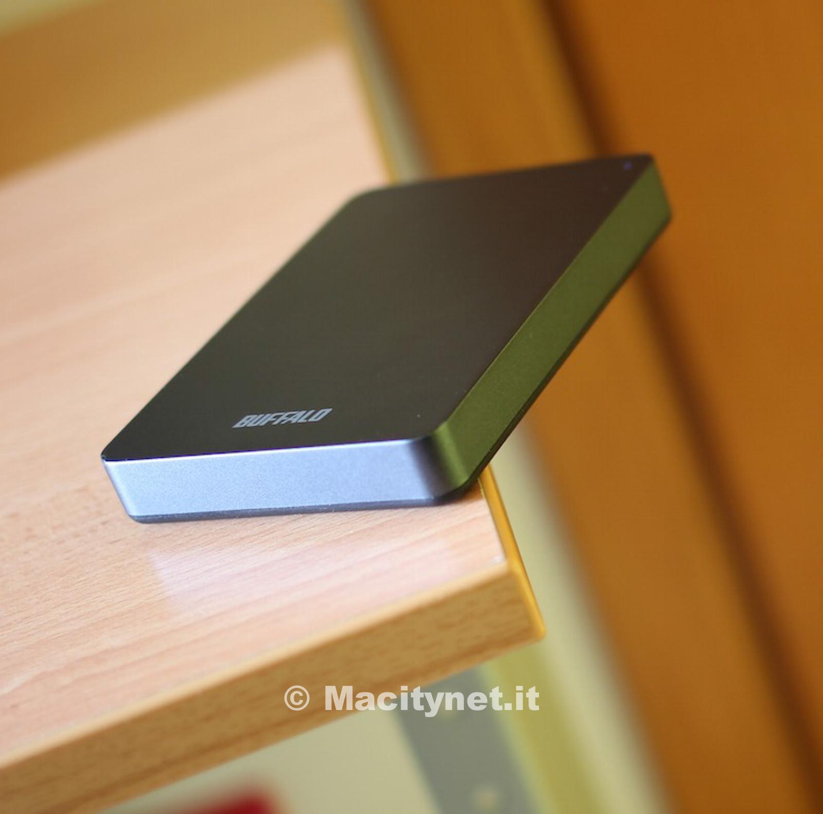 Recensione Buffalo MiniStation Safe HD-PNFU3