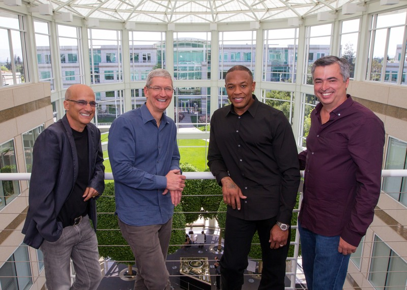 Jimmy Iovine apple Dr. Dre Cook Eddy Cue