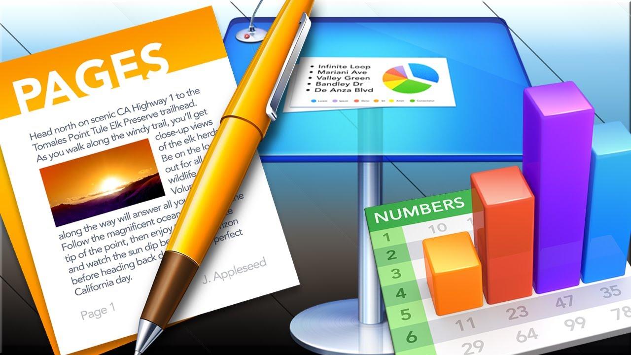 Aggiornati Keynote, Numbers e Pages con supporto per OS X 10 11 e
