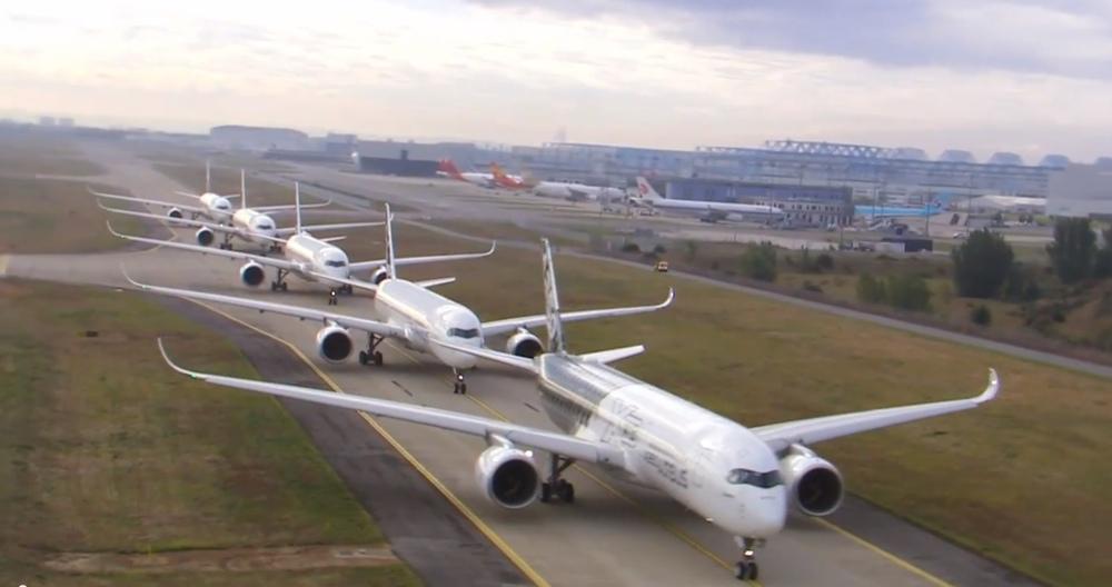 Il servizio fotografico più costoso di sempre: lo spettacolare video di Airbus