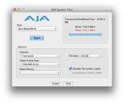 Test con AJA unità StoreJet 100