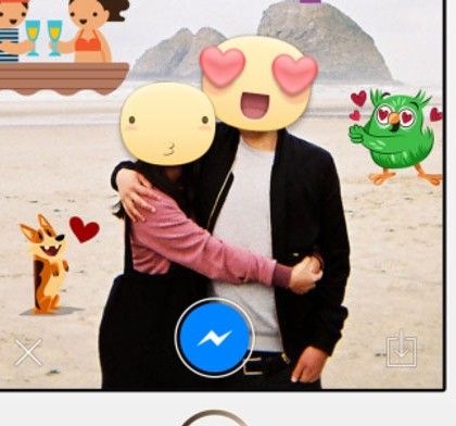 Stickered, da Facebook una app per far diventare le facce un cartoon