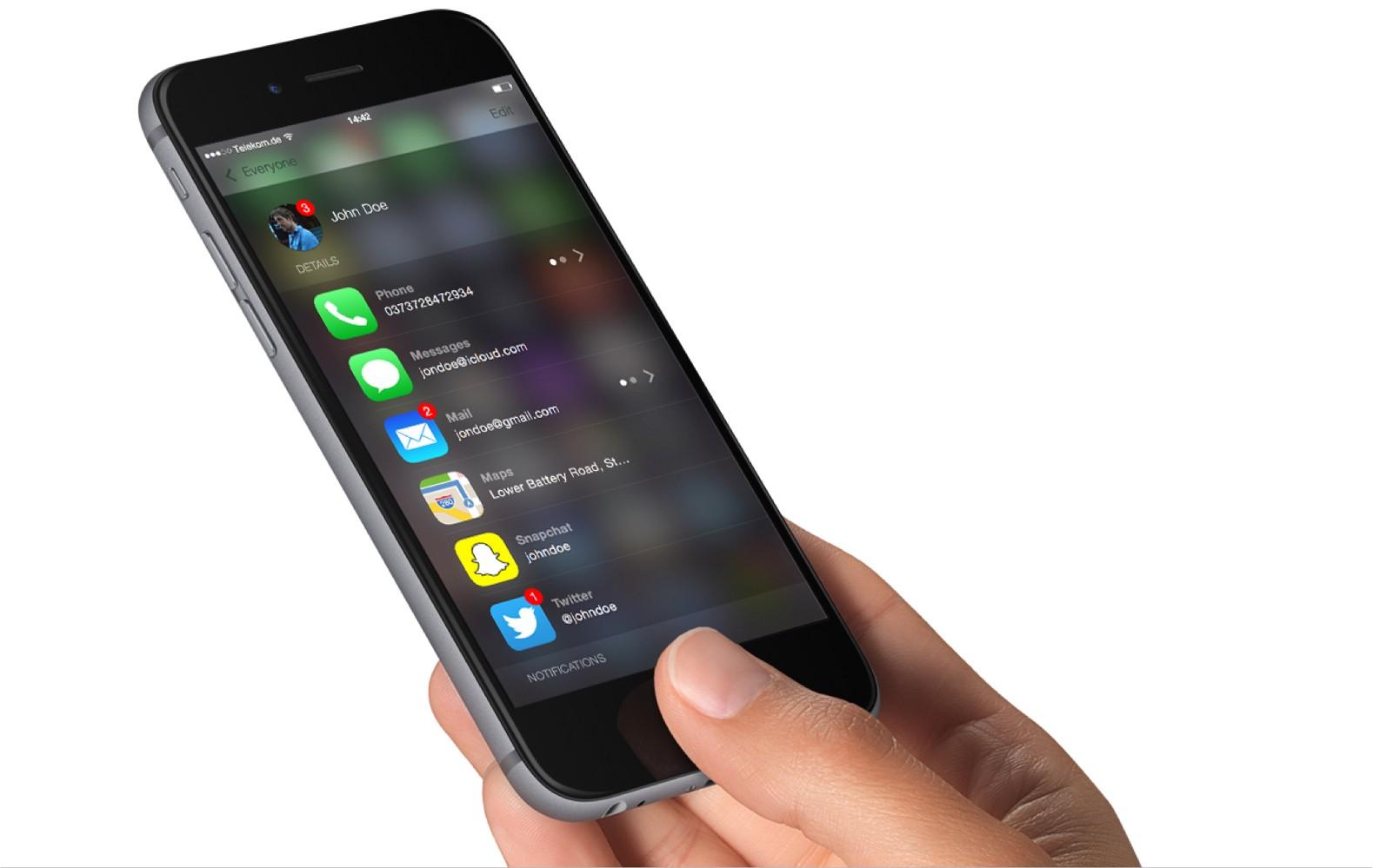 Contatti su iOS, migliorare l'app per iPhone si può