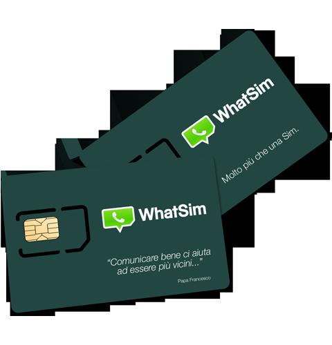 WhatSim, la scheda sim per chattare gratis su WhatsApp anche senza internet