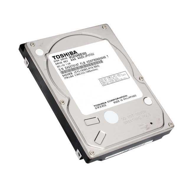 """L'HDD da 3,5"""" da 3TB di Toshiba"""