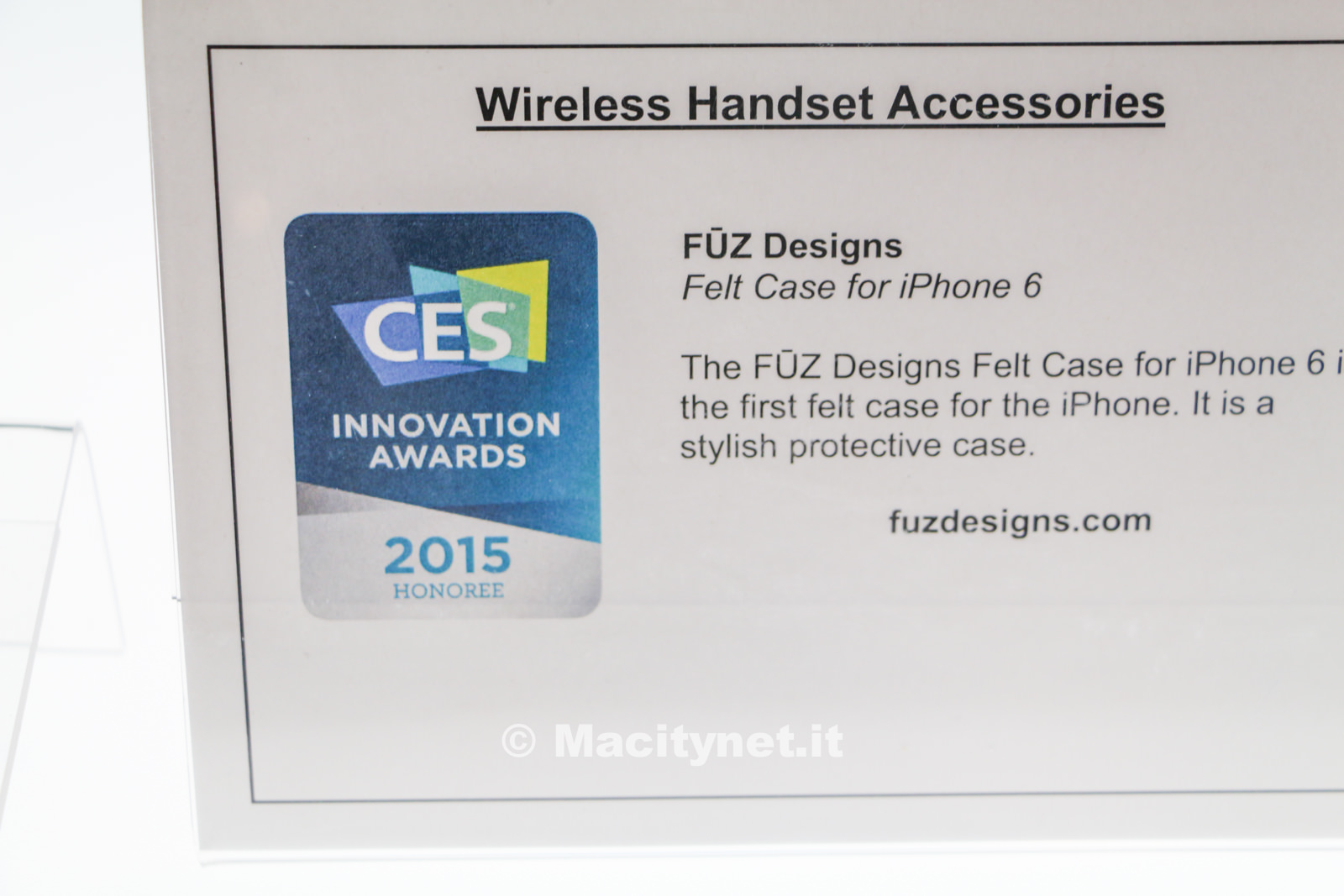 Felt Case, premiata al CES la prima custodia in feltro per iPhone 6 e Plus