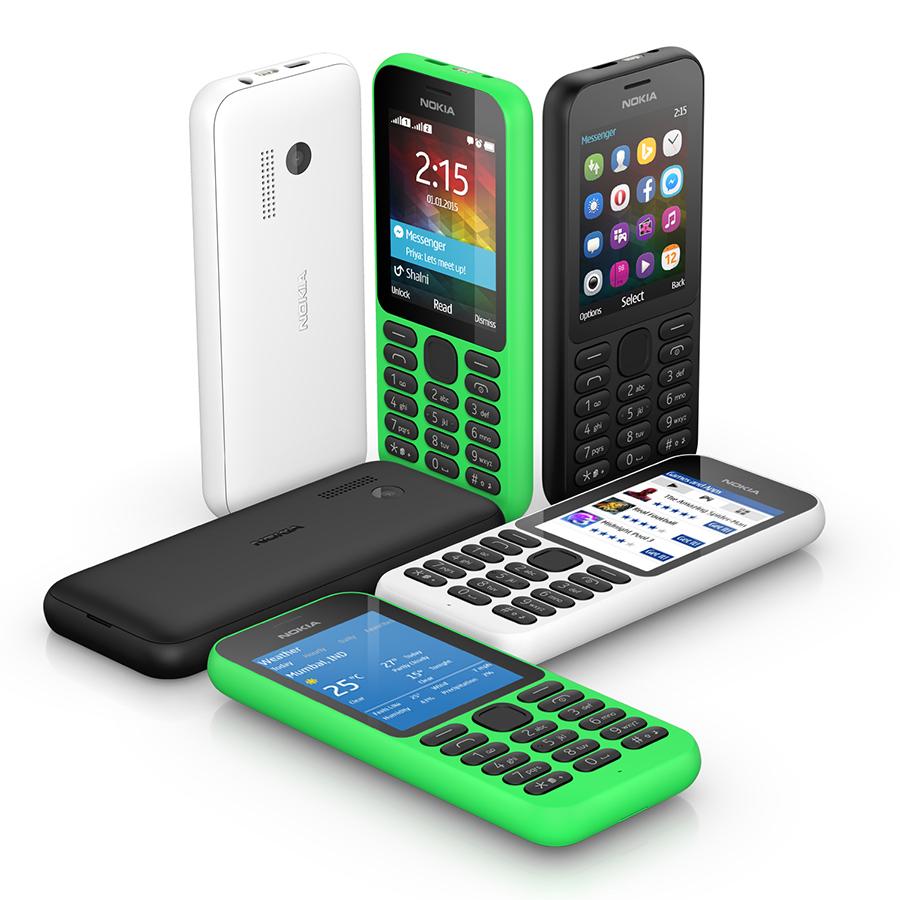 Nokia 215: lo smartphone low cost da 29 dollari con un mese di standby