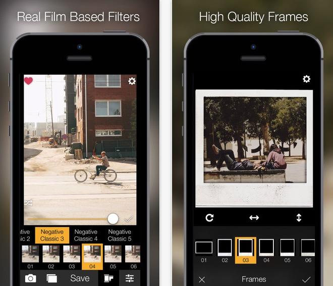 Analog Film: l'app con 400 filtri per foto retro' e vintage