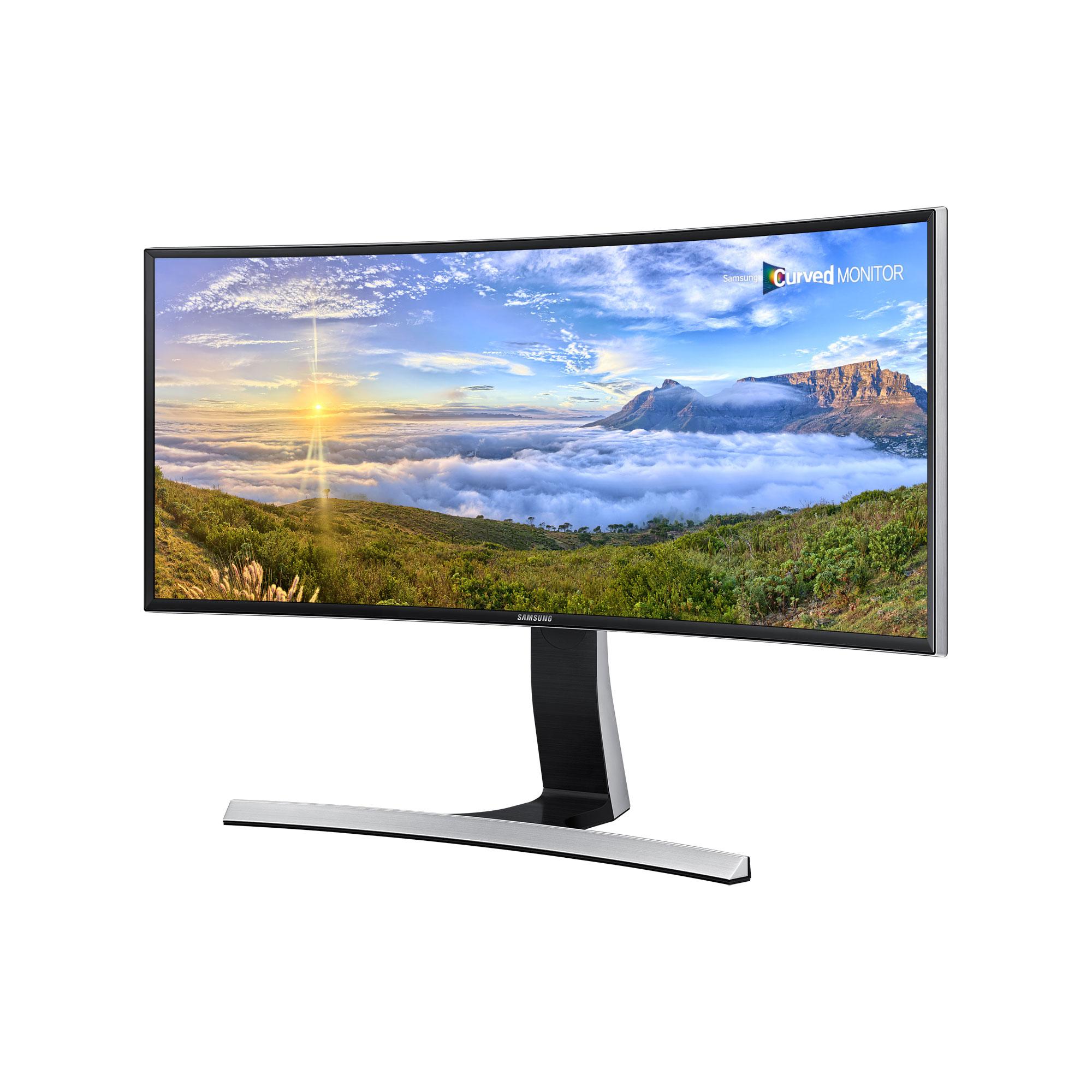 Samsung SE790C, monitor curvo per comfort di visione