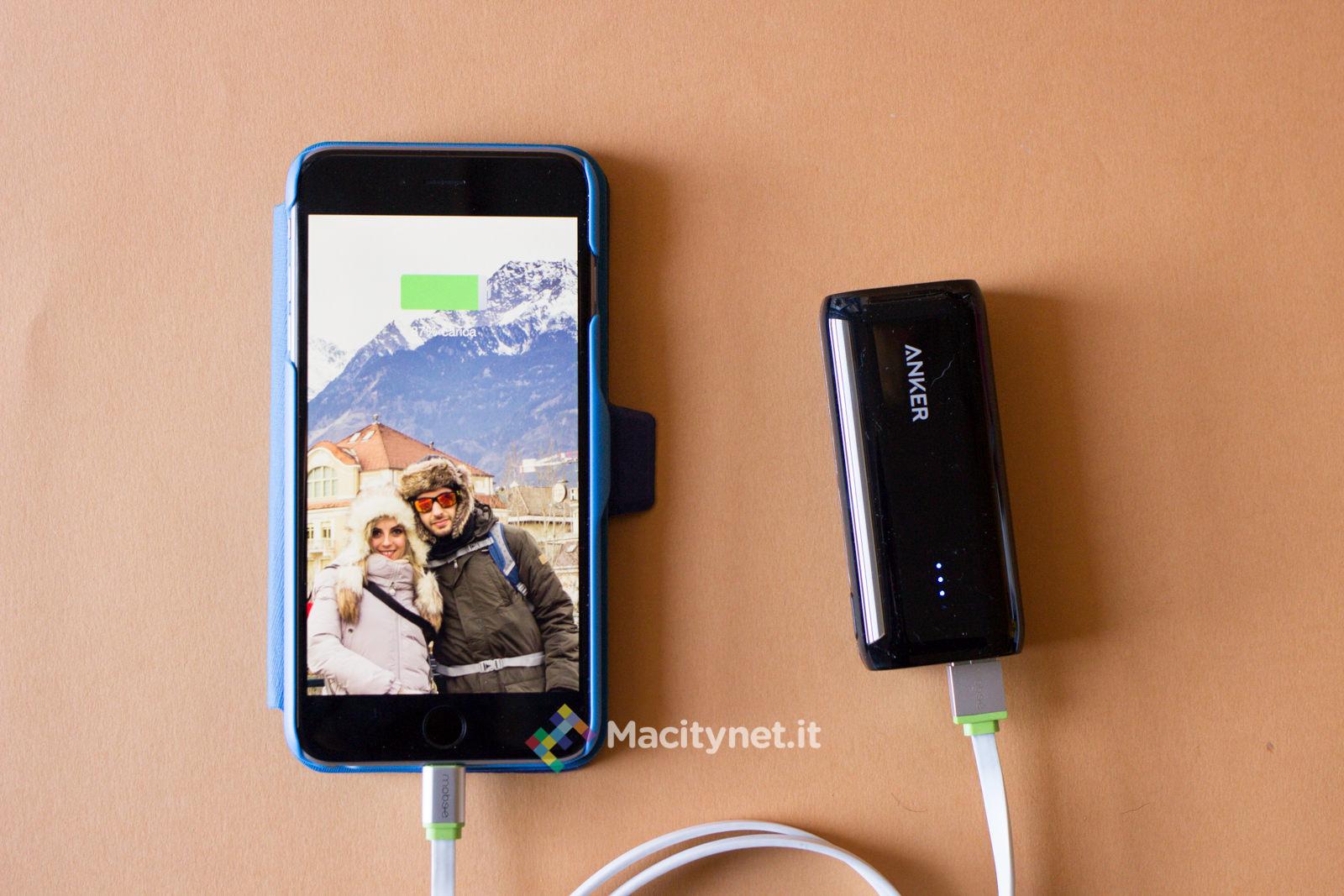 iPhone 6 plus in ricarica