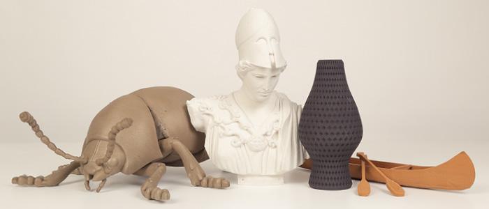 MakerBot ha annunciato nuovi filamenti realizzati con materiali compositi in metallo, pietra e legno