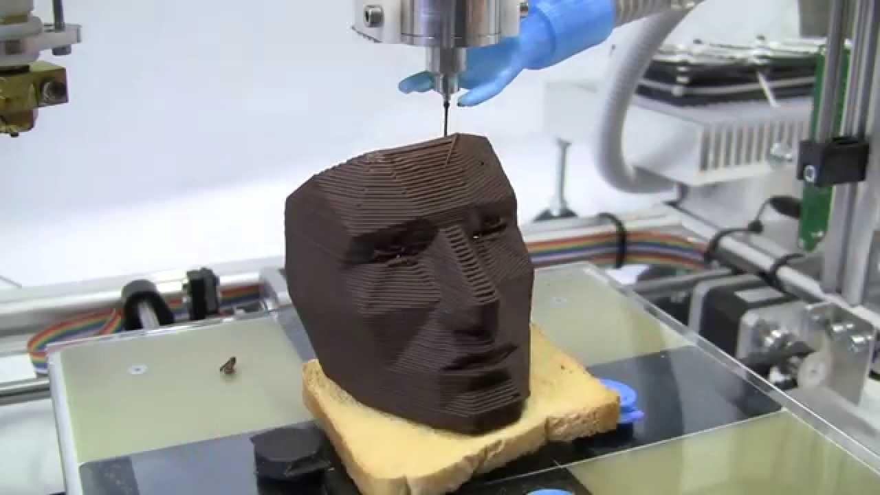 3Drag: la stampante 3D made in Italy che stampa oggetti in cioccolato