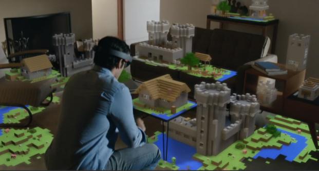 hololens microsoft Minecraft