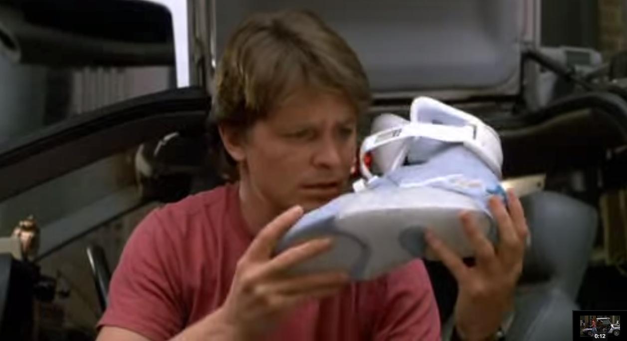Nike conferma: nel 2015 arriveranno le scarpe di Ritorno al Futuro