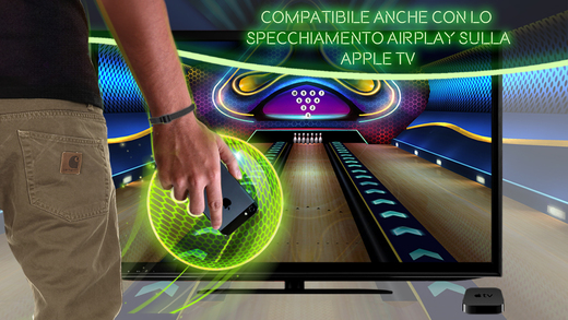 bowling su apple tv iphone si trasforma in controller wireless. Black Bedroom Furniture Sets. Home Design Ideas