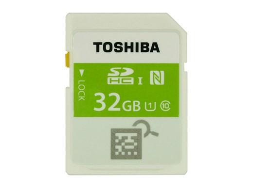 Toshiba sdhc con nfc