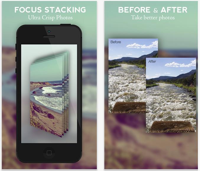stay focused utile app ios per effettuare scatti in focus stacking con iphone. Black Bedroom Furniture Sets. Home Design Ideas