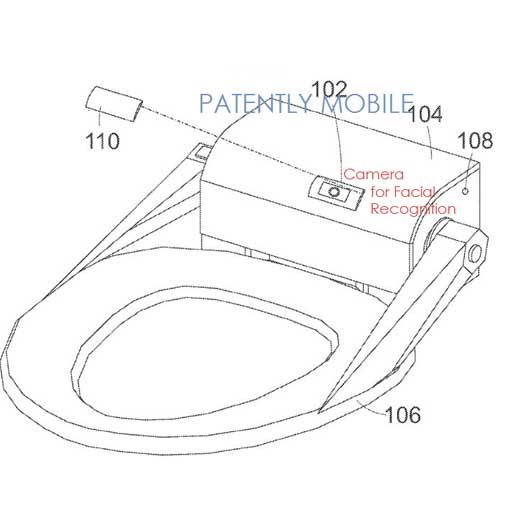 Brevettata una Smart Toilet che sfrutta il sensore Microsoft Kinect
