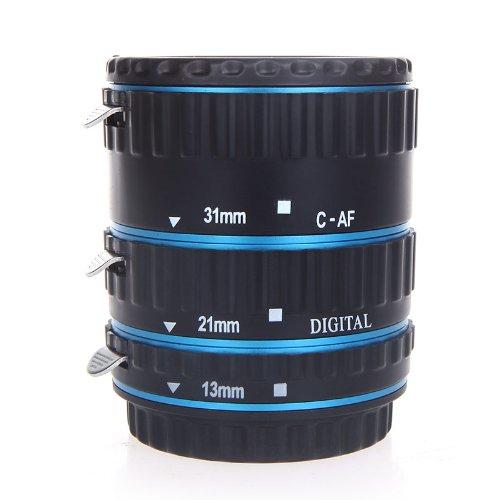 36 € per trasformare obiettivo Canon in macro: sconto su set di tubi di prolunga