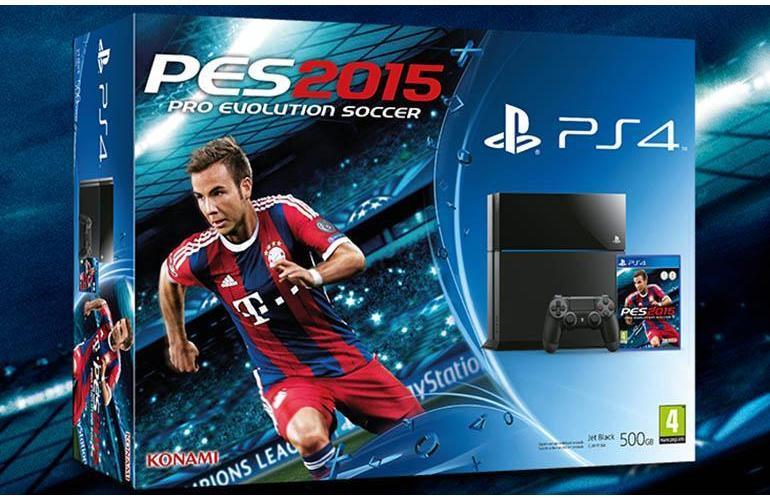 Sconto PS4, solo 329 euro per la console 500 GB con PES 2015 incluso