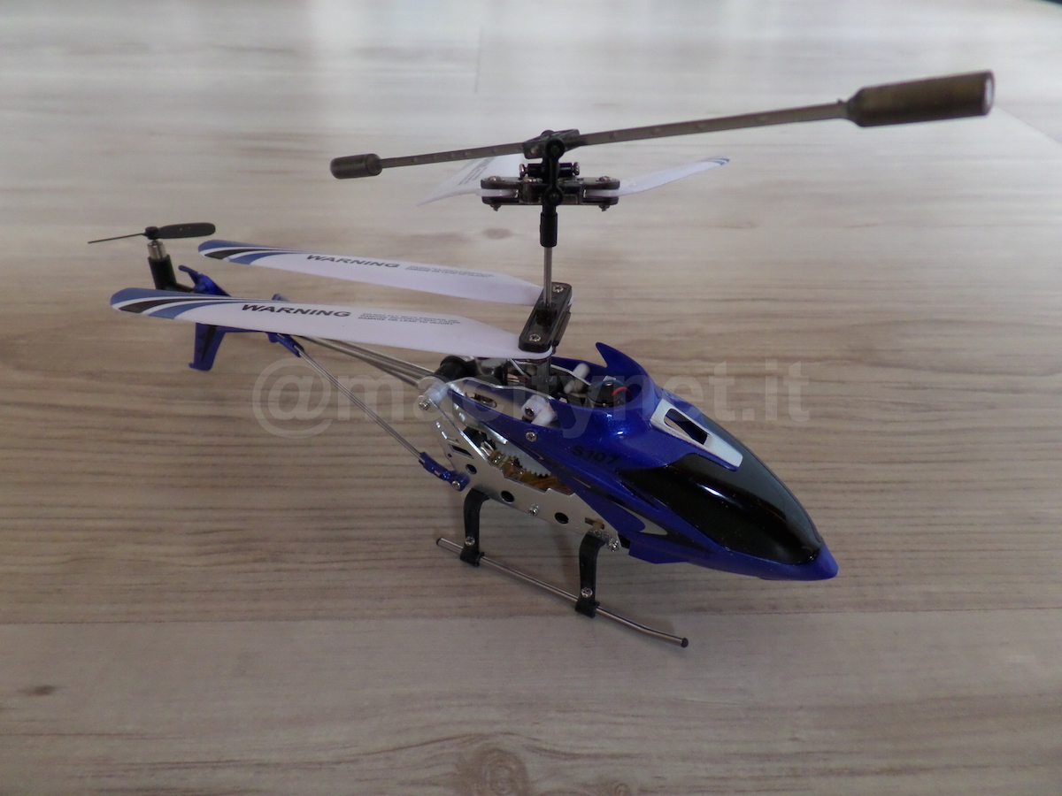 Elicottero A Reazione : Recensione syma s g l elicottero radiocomandato facile