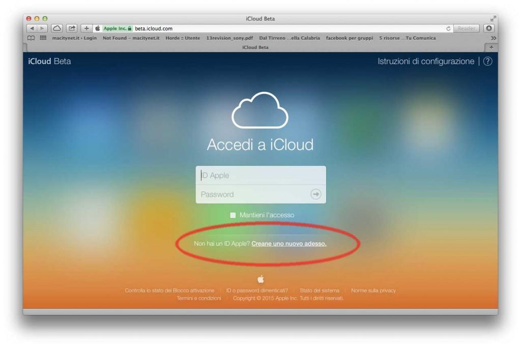 prova iWork icloud beta