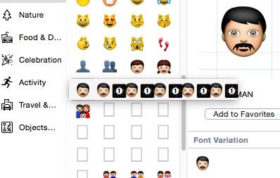 emoji os x 10.10.3 2