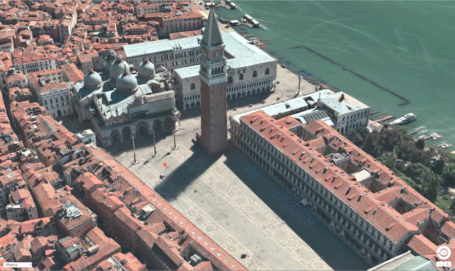 mapple di apple Flyover 3d venezia 900 ok