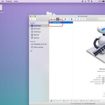 Come riavviare la barra dei menu del Mac