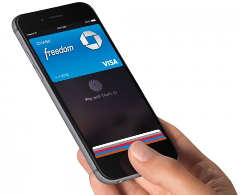 visa iPhone-6 apple pay