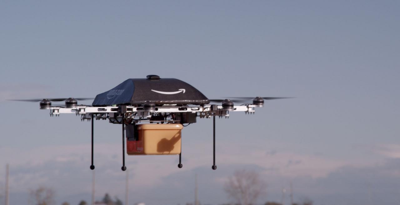 Droni Amazon approvati, le consegne volanti più vicine in USA
