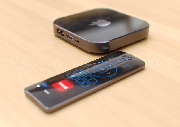 apple tv pi sottile e con app store integrato. Black Bedroom Furniture Sets. Home Design Ideas