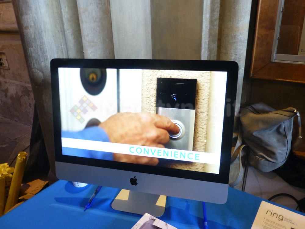 MWC15: Ring, il videocitofono smart per rispondere anche lontano da casa